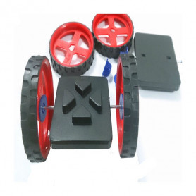 Magformers/Magsmartes wielen rood