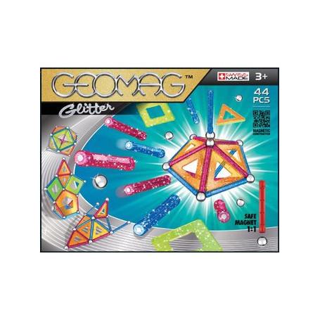 Geomag Panels glitter 44 teilig
