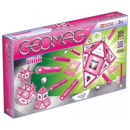Geomag Panels Pink 104