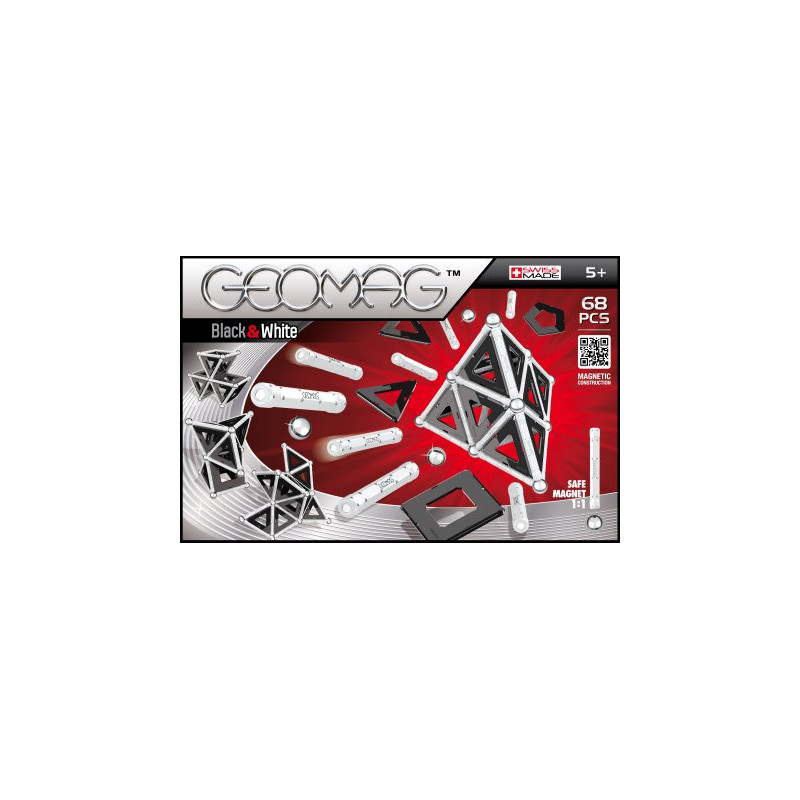 Geomag Panels Black & White 68