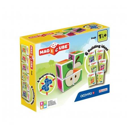 Geomag MagiCube Fruit - 4 pieces