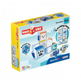 Geomag MagiCube Polar Animals - 8 delig