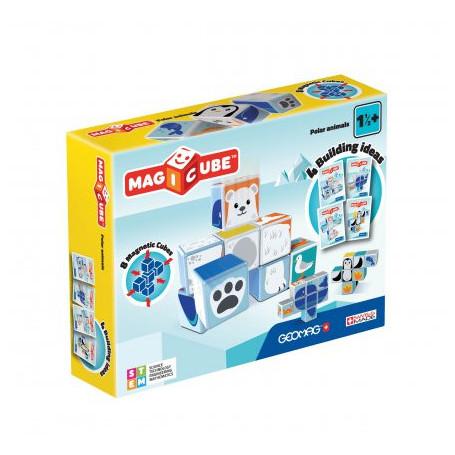 Geomag MagiCube Polar Animals - 8 pieces